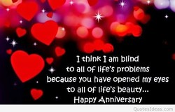 I think I am blind 