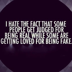 I HATE THE FACT THAT SOME 