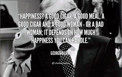 {'HAPPINESS? MEA