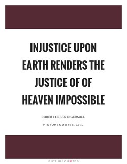 INJUSTICE UPON 