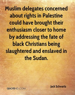 Muslim delegates concerned 