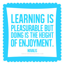 LEARNING IS 