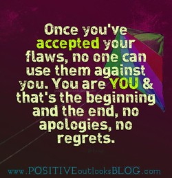Once you've 