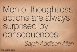 Men of thoughtless 