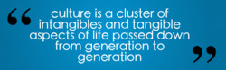 culture is a cluster of 
