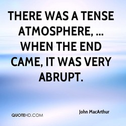THERE WAS A TENSE 
