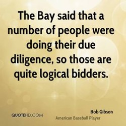 The Bay said that a 