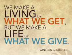 WE MAKE A 