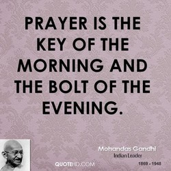 PRAYER IS THE 