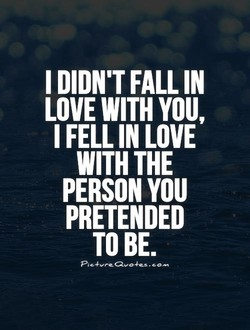 I DIDN'T FALL IN 