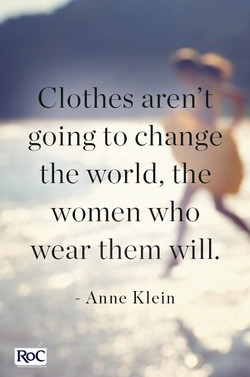 Clothes aren't 