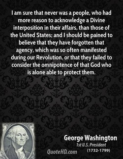 I am sure that never was a people, who had 