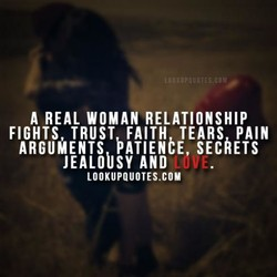 A REAL WOMAN RELATIONSHIP 