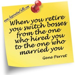 Whew yow retire 