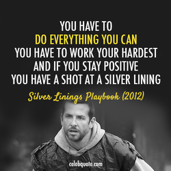 YOU HAVE TO 
