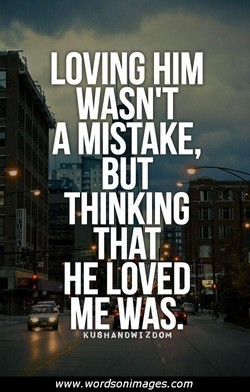 LOVING HIM 