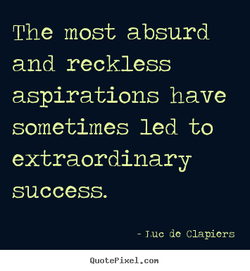 The most absurd 