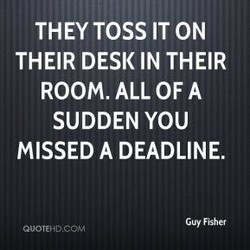 THEY TOSS IT ON 