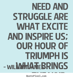 NEED AND 