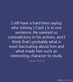 I still have a hard time saying 