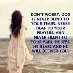 DON'T WORRY. GOD 