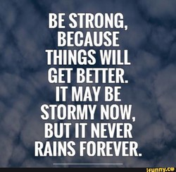 BE STRONG, 