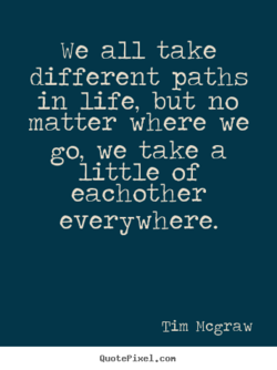 We all take 