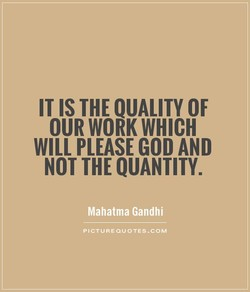 IT THE QUALITY OF 