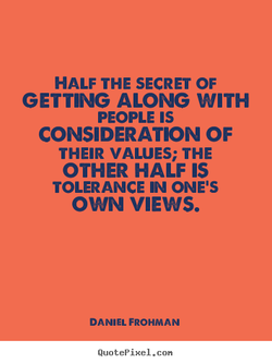 HALF THE SECRET OF 