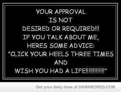 YOUR APPROVAL 