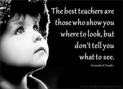 The best teachers are 