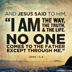 AND JESUS SAID TO HIM, 