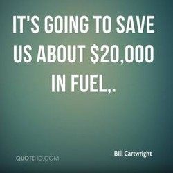IT'S GOING TO SAVE 