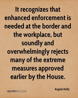 It recognizes that 