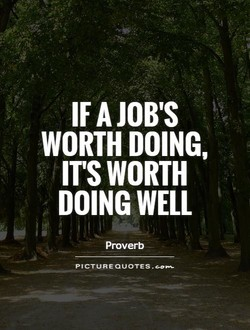 IF A JOB'S 