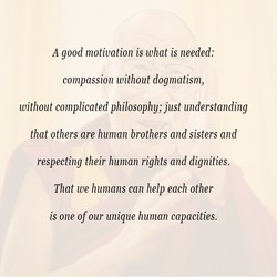 A good motivation is what is needed: 