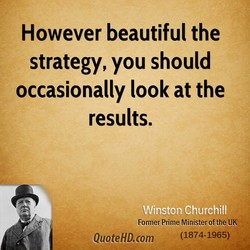 However beautiful the 