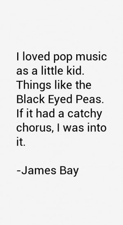 I loved pop music