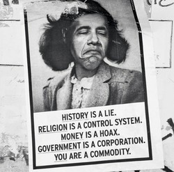 HISTORY IS A LIE.