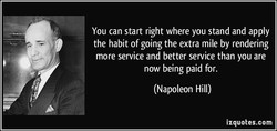 You can start right where you stand and apply 