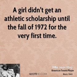 A girl didn't get an 
