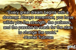 •AEvery great dream begins witha 