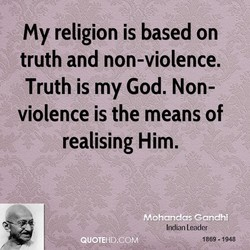 My religion is based on 