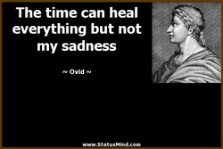 The time can heal 