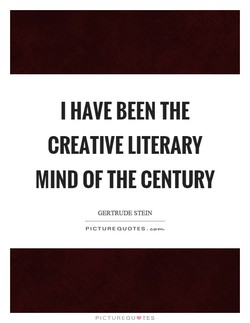 I HAVE BEEN THE