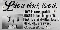 LOVE is rare, grab it. 