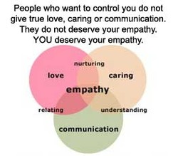 people Who want to control you do not 
