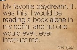 My favorite daydream, it - 