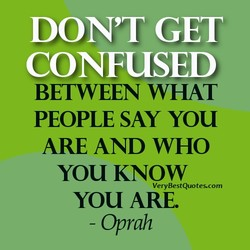 DON'T GET 