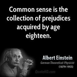 Common sense is the